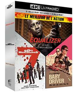 The Equalizer + The Magnificent Seven + Baby Driver [4K Ultra HD + Blu-ray 3 movie Box Set] - £12.89 delivered @ Amazon.fr
