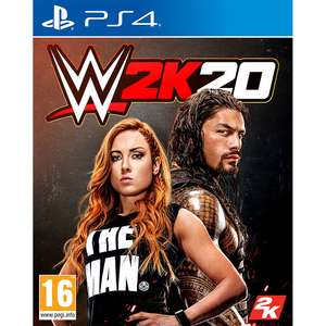WWE 2k20 at Game for £27.99