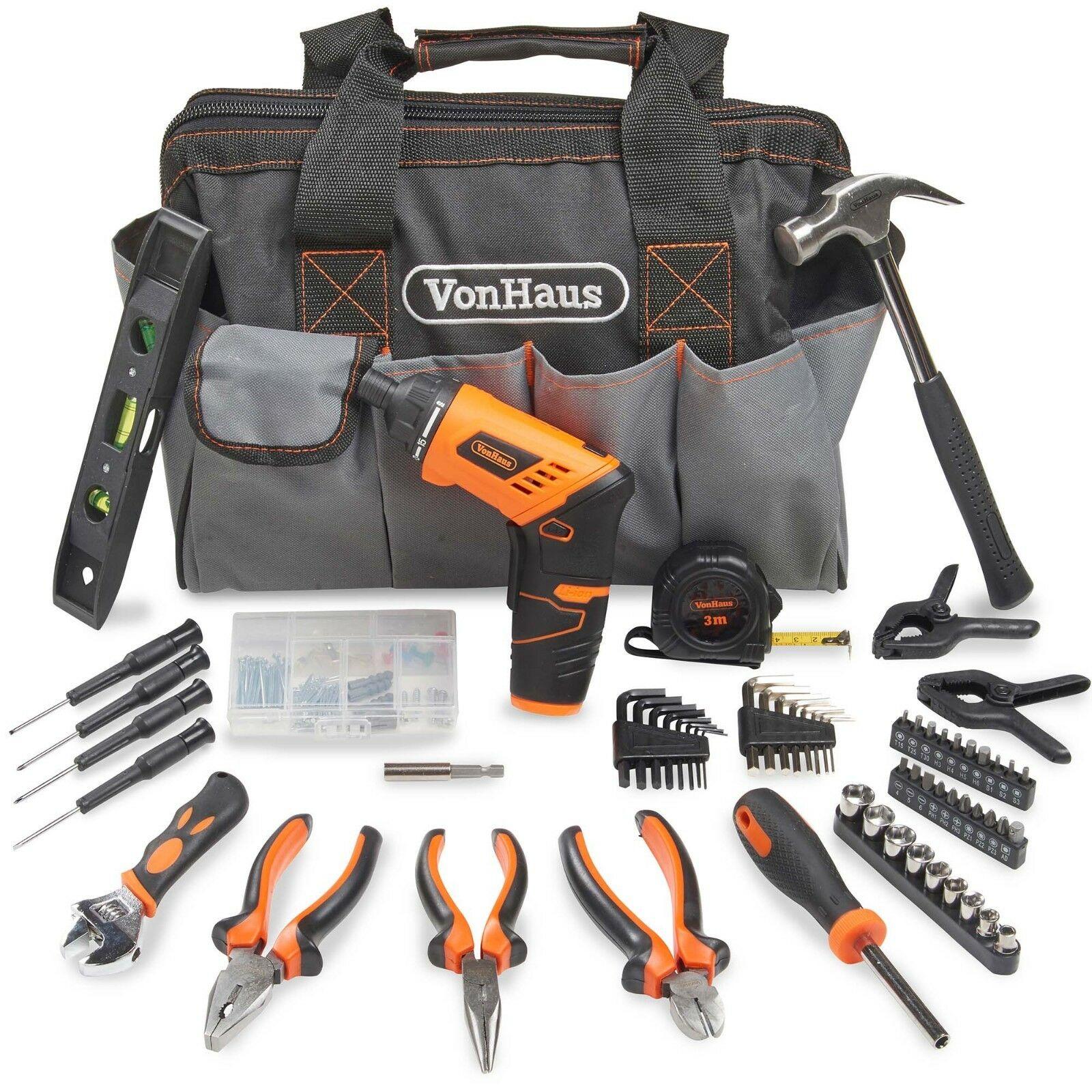 VonHaus 94 piece Household Hand Tool Set + Screwdriver Combo Kit - £24.84 delivered @ Domu eBay