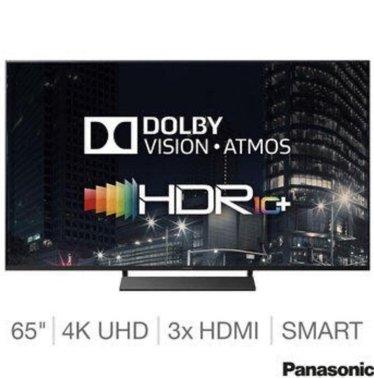 Panasonic 65GX800B 65 Inch 4K Ultra HD Smart LED TV + 5 Year Warranty - £849.99 Delivered @ Costco
