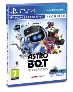 Astro Bot, (PS4 PSVR) - £9.99 @ John Lewis & Partners (Instore or +£3.50 Delivery)