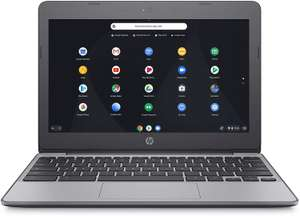 HP Chromebook 11-v001na 11.5 Inch Laptop - (Silver) (Intel N3060, 4 GB RAM, 16 GB eMMC, 100 GB Cloud Storage at Amazon £139.99