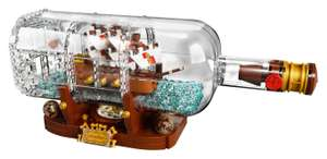 Lego 21313 Ideas Ship In A Bottle - £48.99 @ Lego Store (+£3.95 Postage)