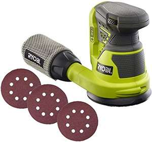Ryobi ONE+ Random Orbit Sander (Body Only) - £39.99 @ Amazon
