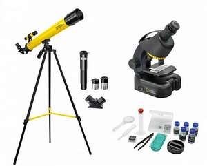 National Geographic Telescope and Microscope - £35.99 @ Ryman (Free Collection)