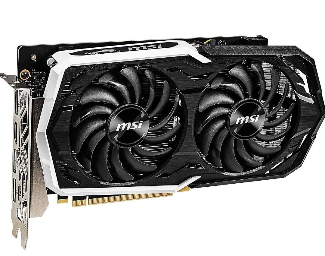 MSI Nvidia GeForce GTX 1660 Armor 6G OC Graphics Card - £190 @ Amazon