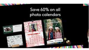 Save 60% on all Photo Calendars @ Boots