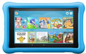 """Amazon Fire HD Kids Edition 8"""" 32GB WiFi Tablet - (blue/yellow/pink) - £79 @ AO"""