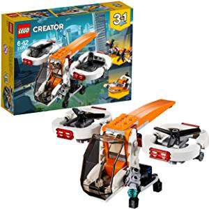 LEGO 31071 Creator 3in1 Drone Explorer Building Set £7.98 Prime / +£4.49 Non Prime @ Amazon