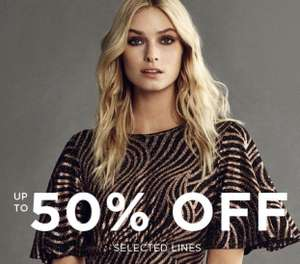 Black Friday Up to 50% off @ Dorothy Perkins