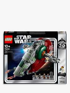 LEGO Star Wars 75243 Slave l £66 (Click & Collect / Price match) @ John Lewis & Partners