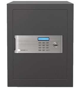 Yale YSM/400/EG1 Certified Office Safe, Insurance Approved, 22 mm Motorised Locking Bolts, LCD Screen at Amazon for £129.99