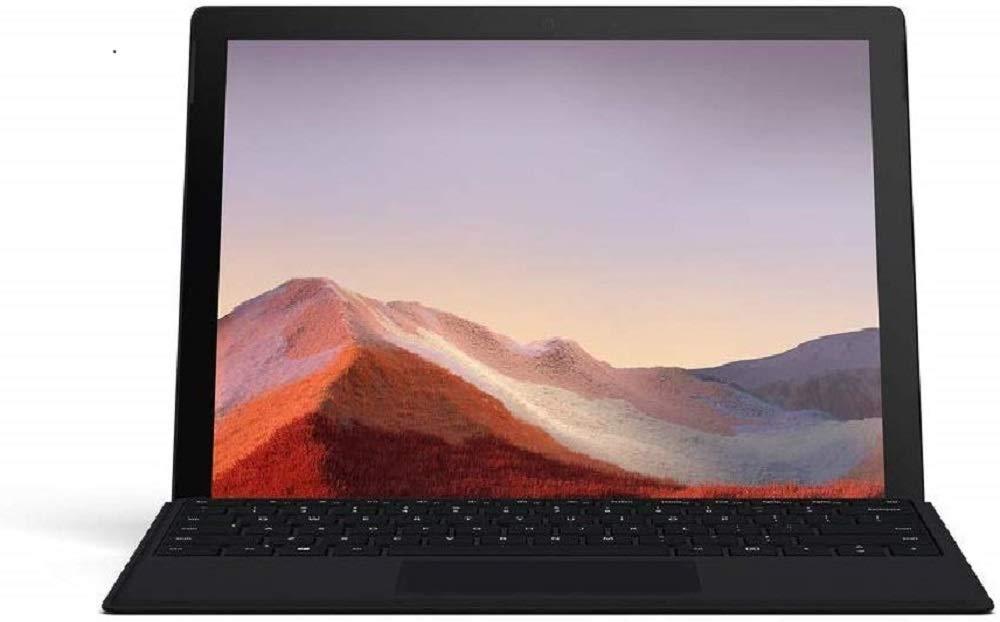 "Microsoft Surface Pro 7 12.3"" Tablet (Platinum) - Intel 10th Gen Quad Core i7, 16GB RAM, 256GB SSD, and Black Type Cover - £1289 @ Amazon"
