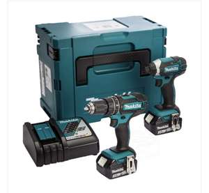 MAKITA DLX2131J 18V LXT Cordless twin kit 2X 3.0AH BATTS charger and Makpac Type 3 case - £188.95 delivered @ Powertoolworld