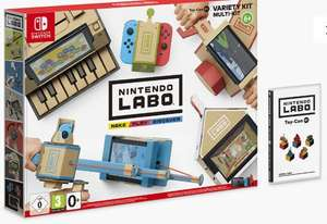 Nintendo Labo Toy-Con 01: Variety Kit £9.99 at John Lewis & Partners