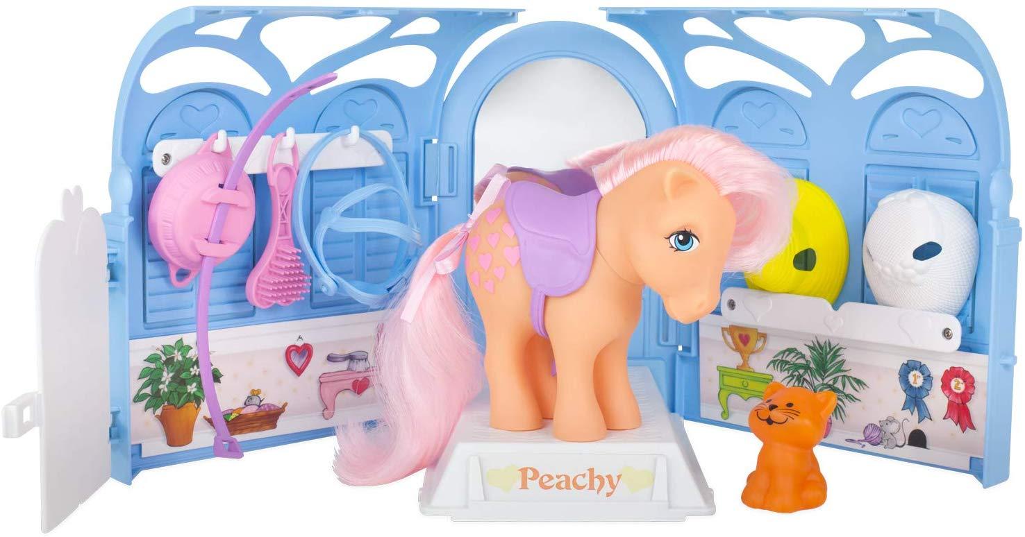 My Little Pony - Retro Pretty Parlour Playset with Peachy - £12.13 Prime / +£4.49 non Prime @ Amazon