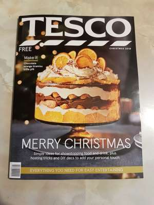 £5 of £30 spend at Tesco clothing (Tesco christmas edition book for free and full of vouchers)