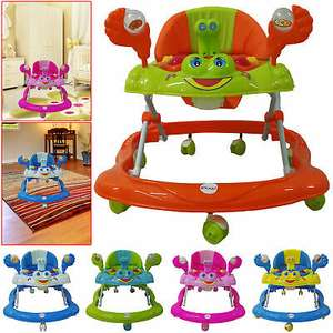 New Push Along Ride Baby Walker Musical Toy First Steps Bouncer Activity Melody £26 e-seller2040 eBay