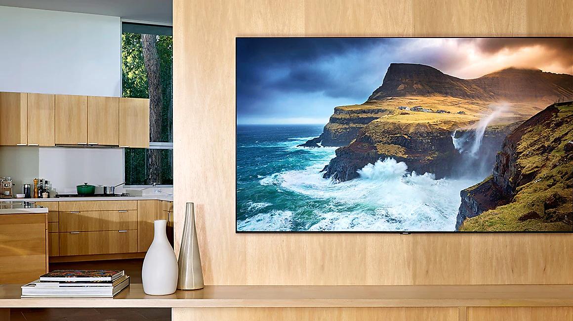 "2019 55"" Q70R QLED 4K HDR 1000 Smart TV 0% finance - 24 Months £999 at Samsung Store"
