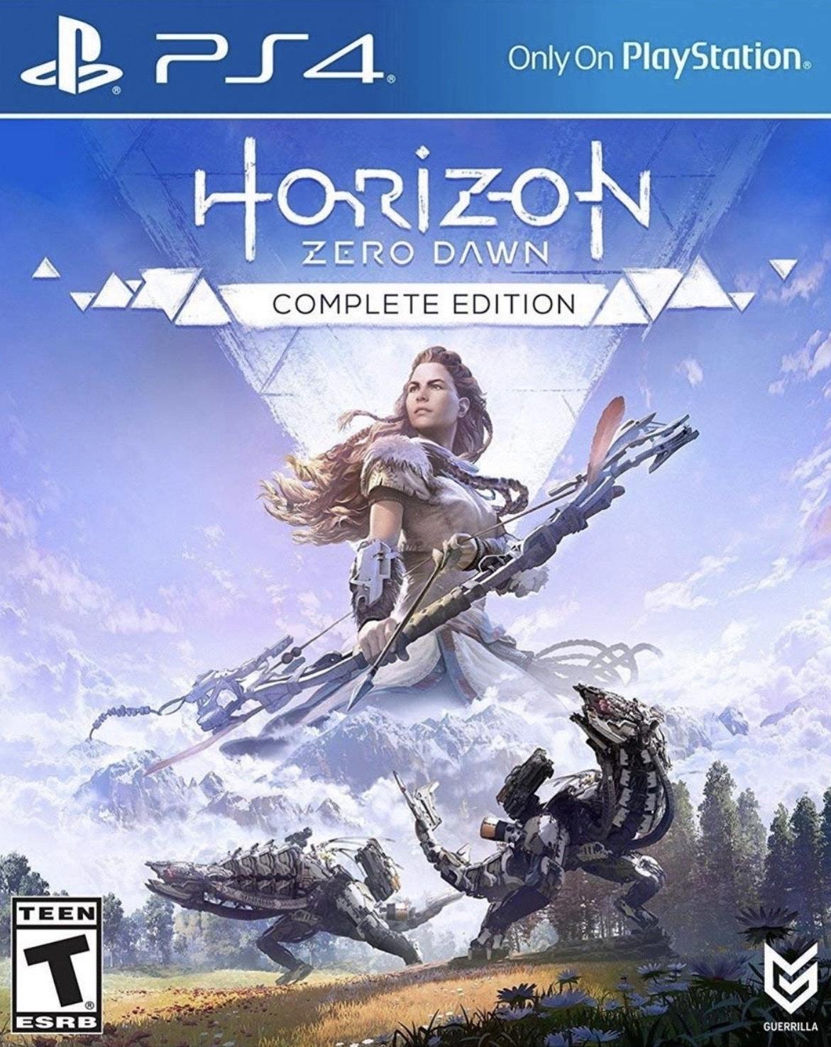 Horizon Zero Dawn Complete Edition (PS4) £12.99 @ Playstation PSN