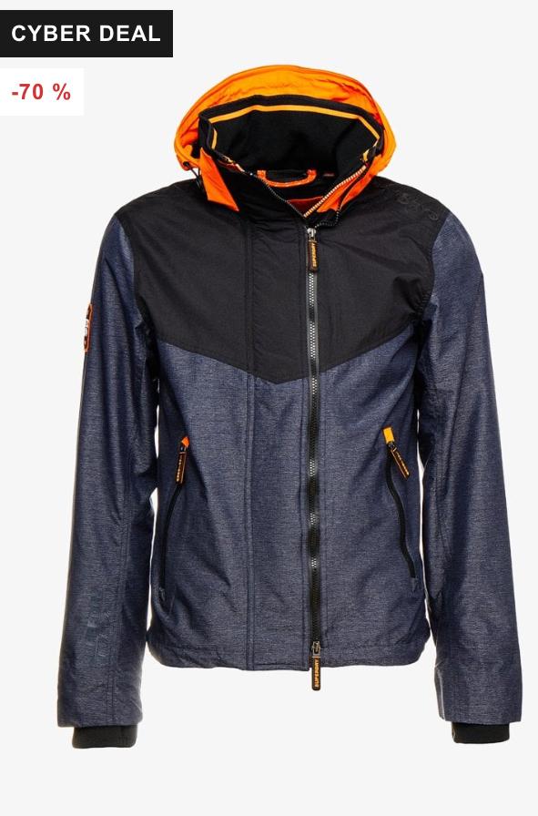 HOODED TECH AXIS POP ZIP - Summer jacket £22.95 sizes XS up to 3XL @ Zalando