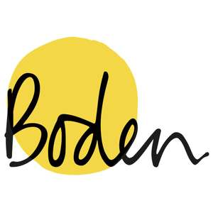 30% off full price items, exclusions apply at Boden (visit Boden.com/exclusions for a full list)