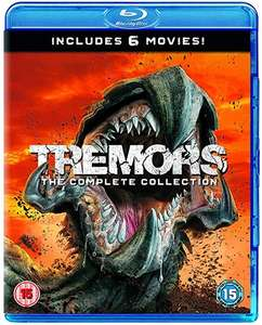 Tremors: 6 Film Collection £12.99 @ Amazon Prime / £15.98 Non Prime