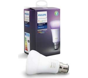 Philips Hue B22 White and Colour Ambiance Single Bulb Reduced to clear £35 in B&Q store (Loughborough)