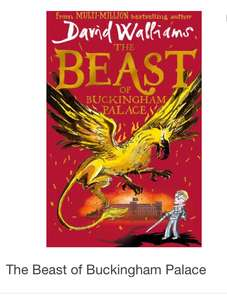 "David Walliams ""the beast of Buckingham palace"" £6 in store Tesco"