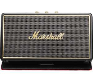 MARSHALL Stockwell Portable Bluetooth Wireless Speaker with Flip Cover - Black - £89.97 @ Currys PC World - pick up in store only