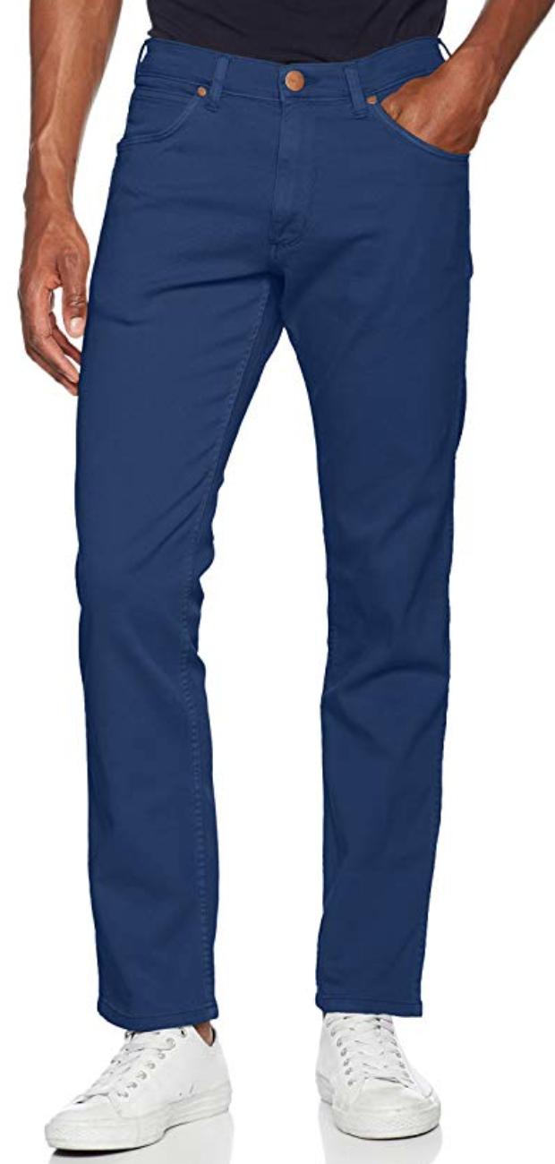 Wrangler Men's Greensboro Straight-Leg Jeans , Blue, Size 36w, 34L and potentially other sizes - £12.70 Prime / +£4.49 non Prime @ Amazon