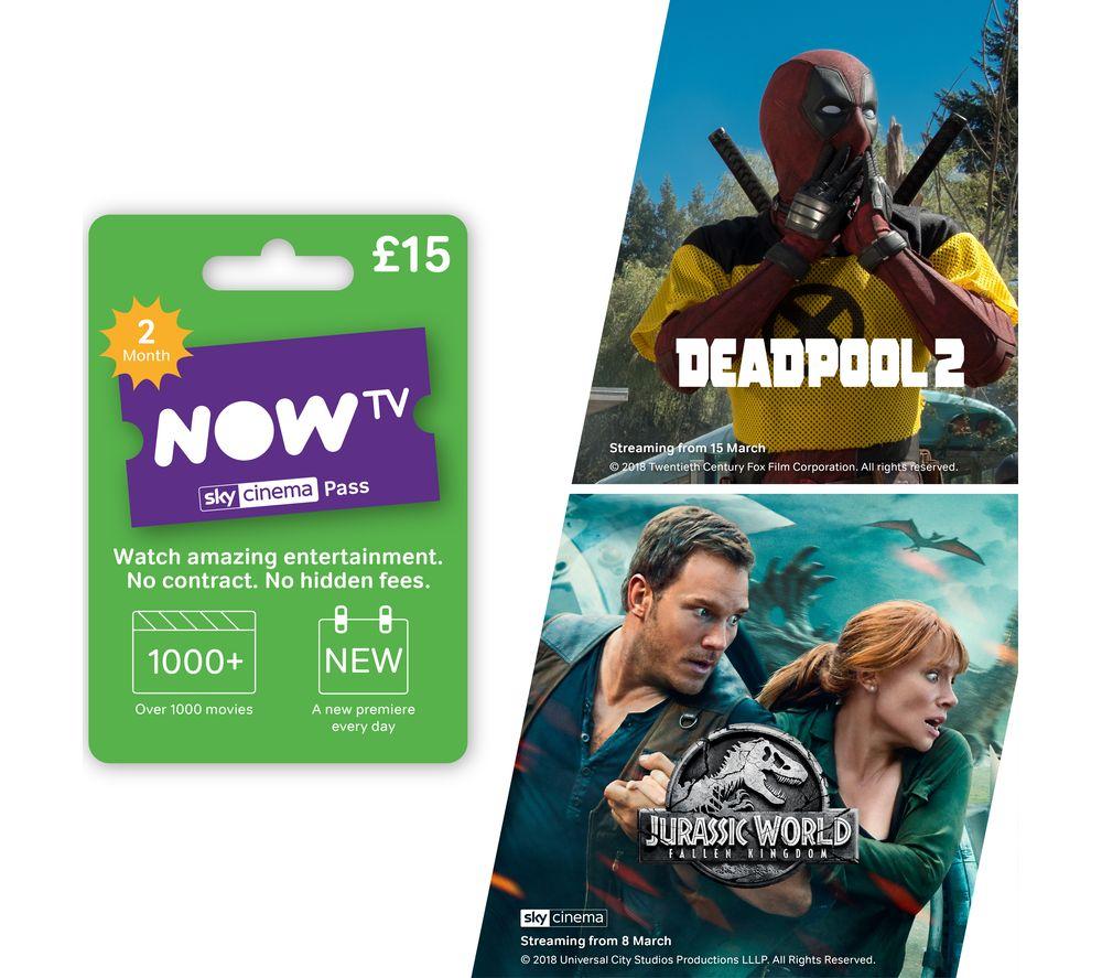 NOW TV Sky Cinema 2 Month Pass £15.00 @ Currys PC World