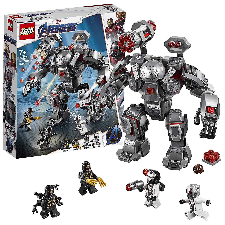LEGO Marvel Avengers War Machine Buster Building Set - 76124 £21.60 using code @ Argos
