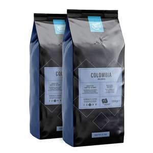 1Kg Colombian Coffee Beans - Happy Belly (Amazon) (2 x 500g) £5.77 @ Amazon (add-on item)