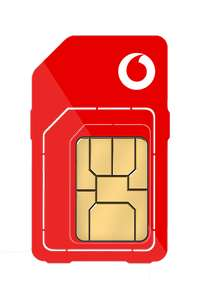 Vodafone SIM Unlimited data/mins/txt £23 x 12 months - £276 - £9.67 with cashback (possible £7.57 with TCB)