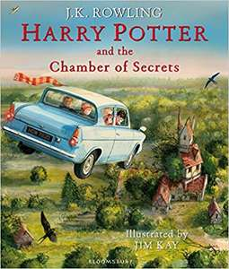 Harry Potter and the Chamber of Secrets: Illustrated Edition Hardback Version £8 Prime / £10.99 Non Prime @ Amazon