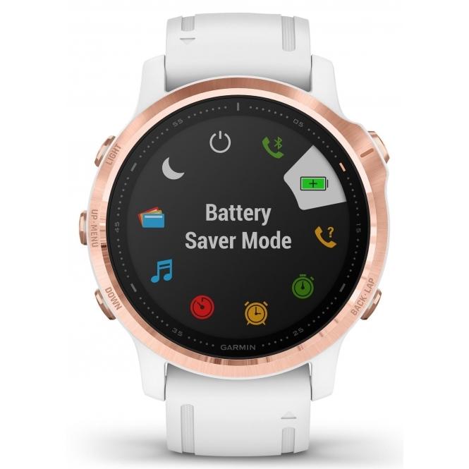 Garmin 010-02159-11 Fēnix 6S Pro White Band Smartwatch £479.20 @ HS Johnson