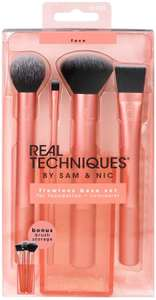 Real Techniques Flawless Base Makeup Brush Set for Foundation, Concealer and Contouring £10.29 + £4.49 delivery NP @ Amazon