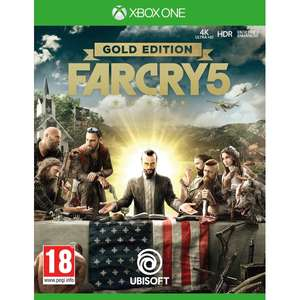 Far Cry 5 Gold Edition Xbox One Physical Copy - 365Games.co.uk £19.99
