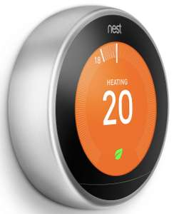 Google Nest Learning Thermostat, 3rd Generation John Lewis 2 YEAR GUARANTEE £149 @ John Lewis & Partners