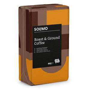 Amazon Brand Solimo Ground Coffee Compatible with all use - UTZ certified, 2 kg (4 x 500g) £7.77 + £4.49 NP @ AMAZON