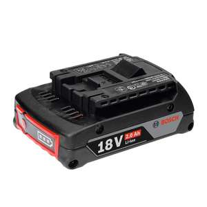 Bosch Professional GBA 18 V 2.0 Ah CoolPack Lithium-Ion Battery £17.95 + £4.49 NP @ Amazon