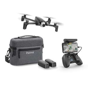Used Parrot Anafi Extended Pack, 4K HDR Camera Drone & 2 extra Batteries + Carrying Bag Amazon warehouse
