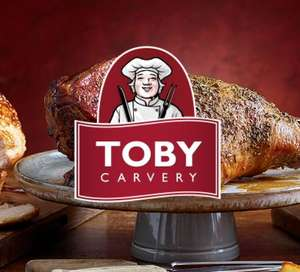 Get £25 Toby Carvery gift card for £20 online