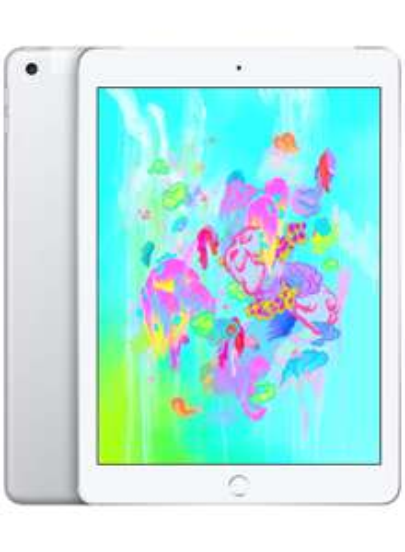 Apple iPad (9.7-inch, Wi-Fi + Cellular, 128 GB) - Silver (Previous Model) £399 @ Amazon
