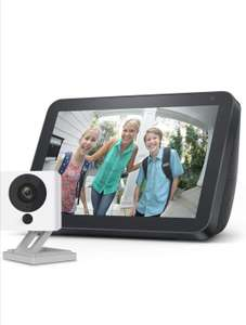 Echo Show 8, Charcoal fabric + Neos SmartCam, 2-Way Audio Smart Camera, Works with Alexa £74.99 @ Amazon