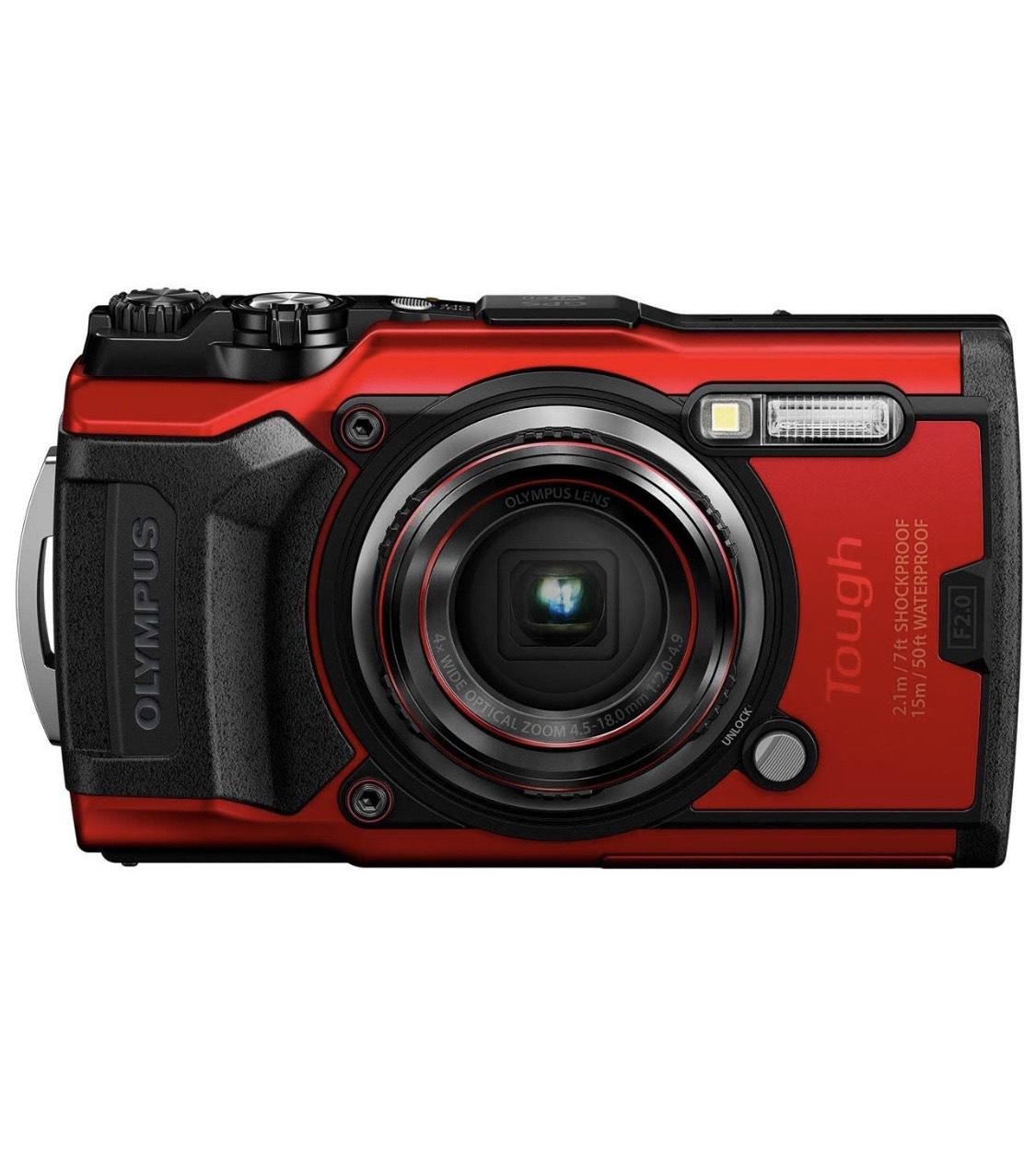 Olympus TG-6 Tough Camera - Red £299 @ Amazon