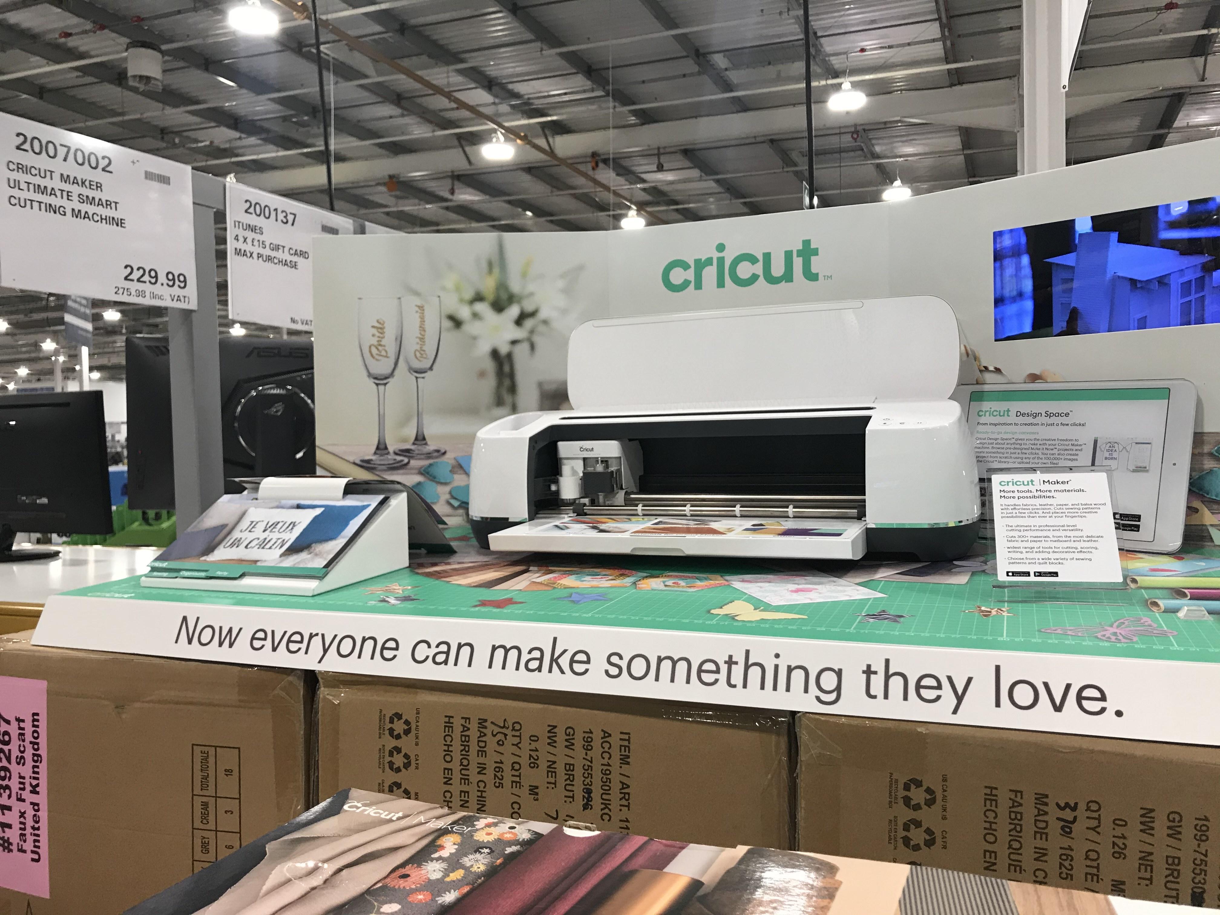 Cricut Maker - £275.98 Instore @ Costco (in-store - London)