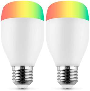 2 Pack WiFi Smart Bulbs - Sold by Horsky Official / FBA - £11.75 Prime / £16.24 non-Prime