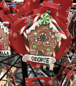 Unusual Names Christmas Decorations (see photo) £1 @ Poundland